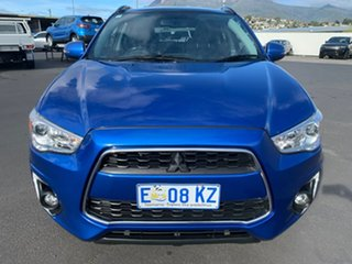 2015 Mitsubishi ASX XB MY15 XLS 2WD Blue 6 Speed Constant Variable Wagon