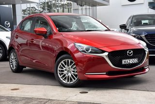 2021 Mazda 2 DJ2HAA G15 SKYACTIV-Drive Evolve Red 6 Speed Sports Automatic Hatchback.