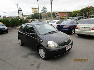 2004 Toyota Echo NCP10R Black 4 Speed Automatic Hatchback.
