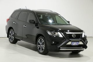 2020 Nissan Pathfinder R52 MY19 Series III TI (4WD) Black Continuous Variable Wagon
