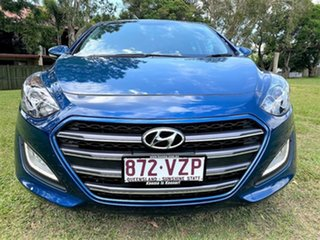 2015 Hyundai i30 GD3 Series II MY16 SR Dazzling Blue 6 Speed Sports Automatic Hatchback.