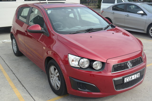 Used Holden Barina TM MY13 CD Maryville, 2013 Holden Barina TM MY13 CD Red 6 Speed Automatic Hatchback