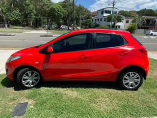2011 Mazda 2 DE10Y1 MY10 Neo Red 4 Speed Automatic Hatchback.