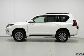 2018 Toyota Landcruiser Prado GDJ150R MY18 VX (4x4) Pearl White 6 Speed Automatic Wagon