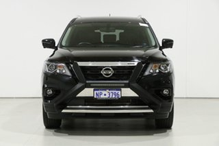 2020 Nissan Pathfinder R52 MY19 Series III TI (4WD) Black Continuous Variable Wagon.