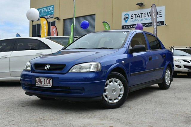 Used Holden Astra TS CD Classic Capalaba, 2004 Holden Astra TS CD Classic Blue 4 Speed Automatic Sedan
