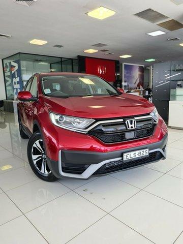 Demo Honda CR-V RW MY21 VTi FWD Hamilton, 2020 Honda CR-V RW MY21 VTi FWD Ignite Red 1 Speed Constant Variable Wagon