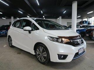 2015 Honda Jazz GF MY15 VTi-S White 1 Speed Constant Variable Hatchback.