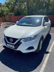 2019 Nissan Qashqai J11 Series 2 ST Ivory Pearl Automatic Wagon.