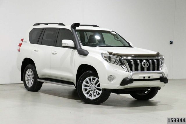 Used Toyota Landcruiser Prado GDJ150R MY17 VX (4x4) Bentley, 2017 Toyota Landcruiser Prado GDJ150R MY17 VX (4x4) Pearl White 6 Speed Automatic Wagon