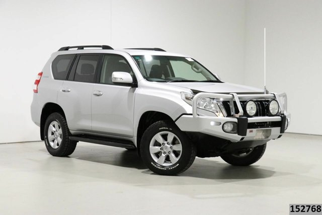 Used Toyota Landcruiser Prado GDJ150R MY16 GXL (4x4) Bentley, 2017 Toyota Landcruiser Prado GDJ150R MY16 GXL (4x4) Silver 6 Speed Automatic Wagon