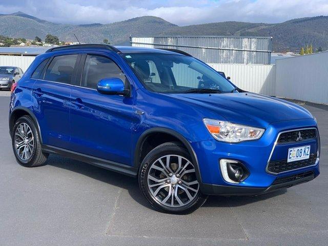 Used Mitsubishi ASX XB MY15 XLS 2WD Moonah, 2015 Mitsubishi ASX XB MY15 XLS 2WD Blue 6 Speed Constant Variable Wagon
