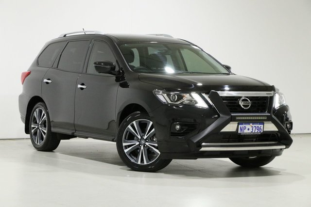 Used Nissan Pathfinder R52 MY19 Series III TI (4WD) Bentley, 2020 Nissan Pathfinder R52 MY19 Series III TI (4WD) Black Continuous Variable Wagon