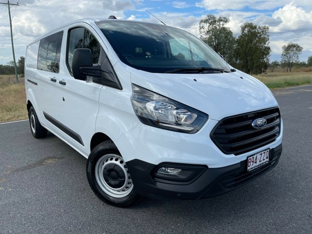 Used Ford Transit Custom VN 2020.50MY 340L (Low Roof) Emerald, 2020 Ford Transit Custom VN 2020.50MY 340L (Low Roof) Frozen White 6 Speed Automatic Double Cab Van