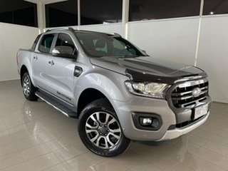 2019 Ford Ranger PX MkIII 2019.00MY Wildtrak Silver, Chrome 10 Speed Sports Automatic.