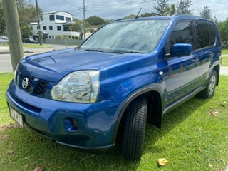2010 Nissan X-Trail T31 MY10 ST Blue 1 Speed Constant Variable Wagon.