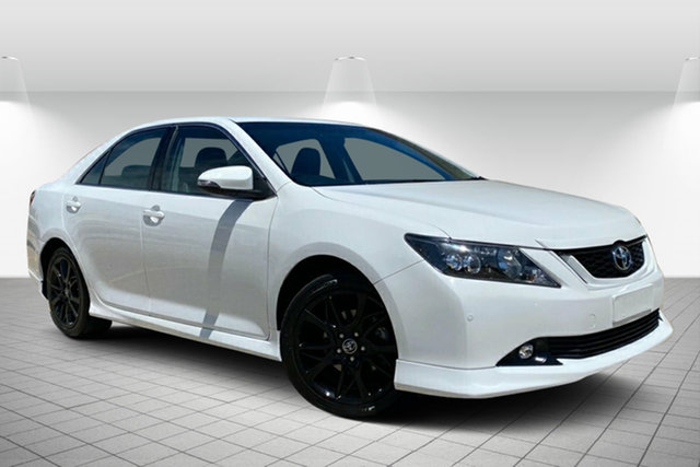 Used Toyota Aurion GSV50R Sportivo Hervey Bay, 2017 Toyota Aurion GSV50R Sportivo White 6 Speed Sports Automatic Sedan