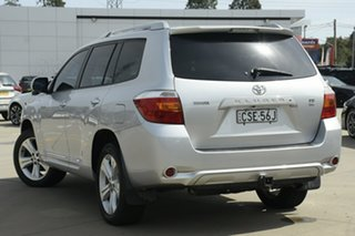 2009 Toyota Kluger GSU40R Grande 2WD Silver 5 Speed Sports Automatic Wagon.