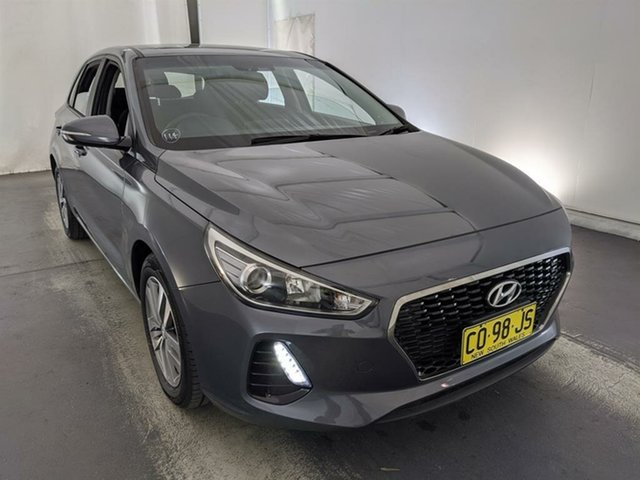 Used Hyundai i30 PD MY18 Active Maryville, 2017 Hyundai i30 PD MY18 Active Grey 6 Speed Sports Automatic Hatchback