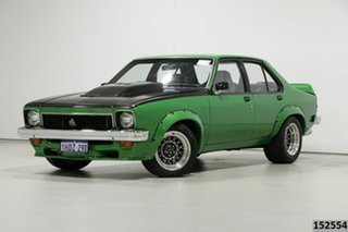1977 Holden Torana LX Tribute SL/R 5000 Green 3 Speed Automatic Sedan.