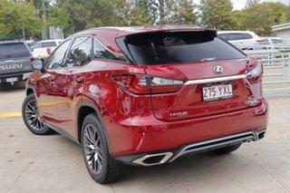 2016 Lexus RX GGL25R RX350 F Sport Red 8 Speed Sports Automatic Wagon
