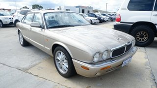 1998 Jaguar XJ8 X308 Gold 5 Speed Automatic Sedan.
