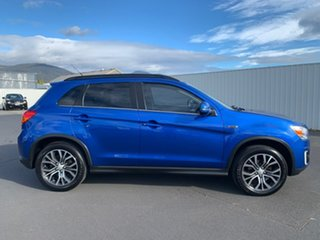 2015 Mitsubishi ASX XB MY15 XLS 2WD Blue 6 Speed Constant Variable Wagon.