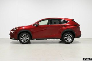 2016 Lexus NX200T AGZ10R Luxury (FWD) Vermillion Red 6 Speed Automatic Wagon