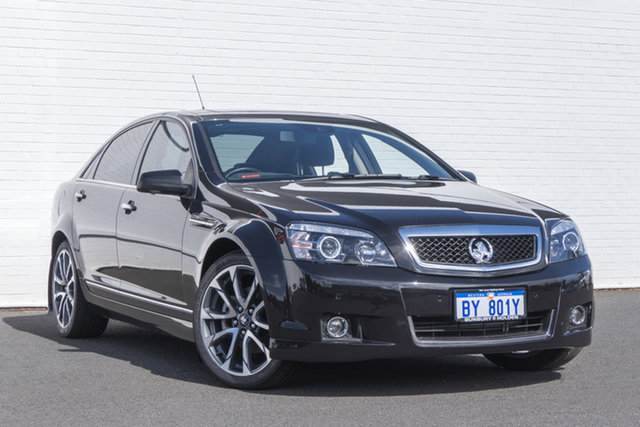 Used Holden Caprice WN II MY16 V Bunbury, 2016 Holden Caprice WN II MY16 V Black 6 Speed Sports Automatic Sedan