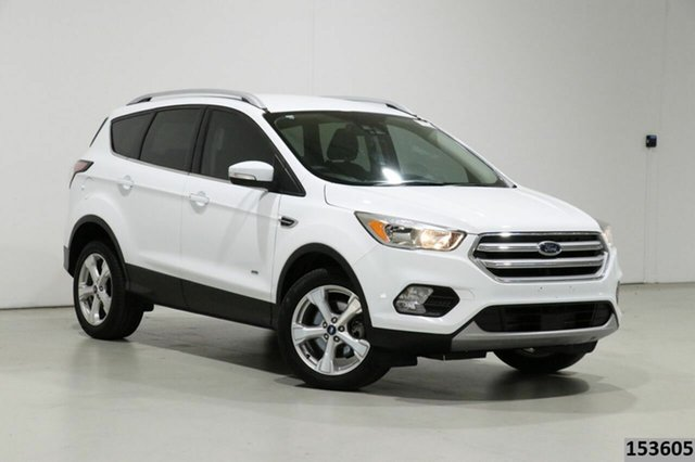 Used Ford Escape ZG Trend (AWD) Bentley, 2017 Ford Escape ZG Trend (AWD) White 6 Speed Automatic SUV
