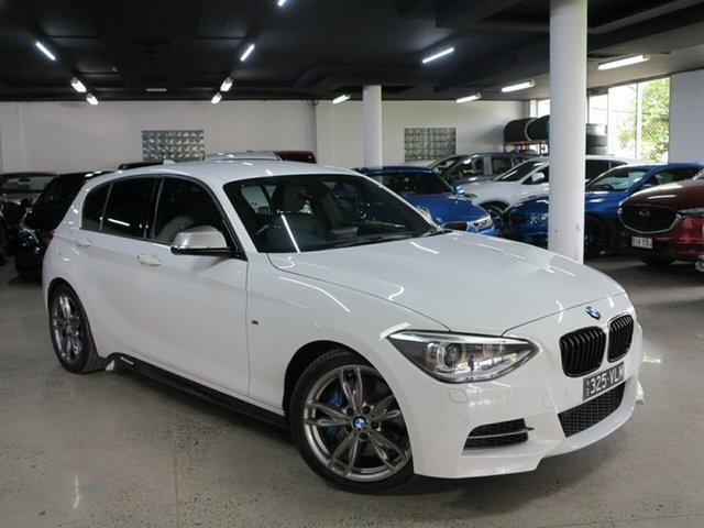 Used BMW 1 Series F20 MY1113 M135i Albion, 2014 BMW 1 Series F20 MY1113 M135i Alpine White 8 Speed Sports Automatic Hatchback