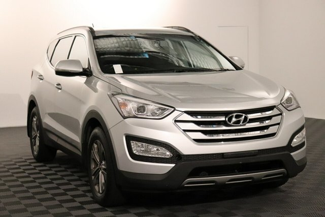 Used Hyundai Santa Fe DM2 MY15 Active Acacia Ridge, 2015 Hyundai Santa Fe DM2 MY15 Active Silver 6 speed Automatic Wagon