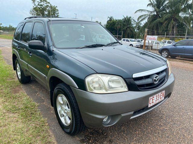Used Mazda Tribute MY2004 Luxury Pinelands, 2004 Mazda Tribute MY2004 Luxury Green 4 Speed Automatic Wagon