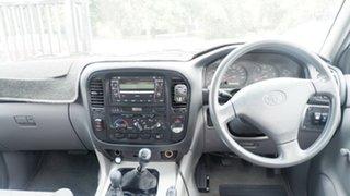 2001 Toyota Landcruiser HZJ105R Standard White 5 Speed Manual Wagon
