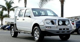 2014 Nissan Navara D40 S7 ST White 5 Speed Sports Automatic Utility.