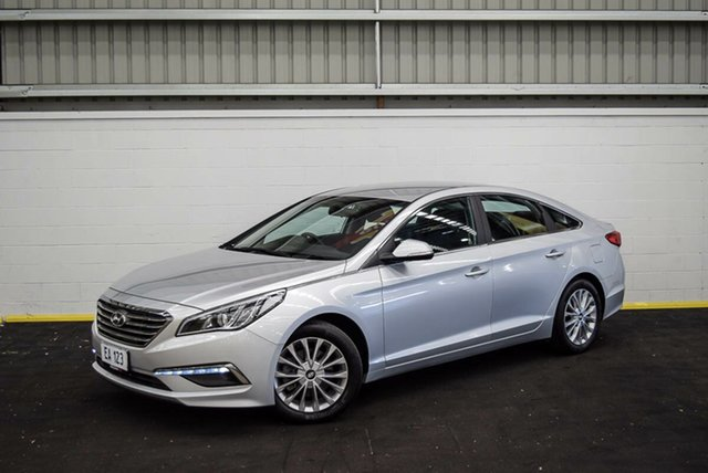 Used Hyundai Sonata LF3 MY17 Active Canning Vale, 2017 Hyundai Sonata LF3 MY17 Active Silver 6 Speed Sports Automatic Sedan