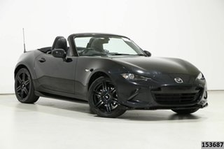 2016 Mazda MX-5 ND (K) MY17 Roadster GT Black 6 Speed Manual Convertible.