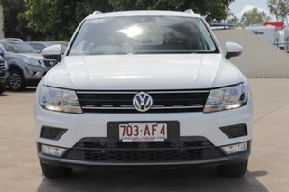 2016 Volkswagen Tiguan 5N MY17 110TDI DSG 4MOTION Comfortline Pure White 7 Speed