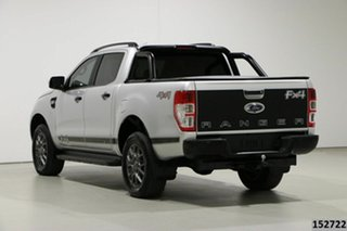 2018 Ford Ranger PX MkII MY18 FX4 Special Edition Silver 6 Speed Automatic Double Cab Pick Up