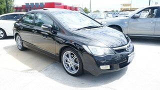 2008 Honda Civic 8th Gen MY08 Sport Black 5 Speed Manual Sedan.