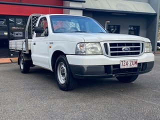2003 Ford Courier PG GL 4x2 White 5 Speed Manual Cab Chassis.