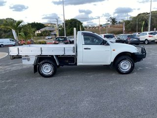 2008 Mitsubishi Triton ML MY08 GLX 4x2 White 5 Speed Manual Utility.