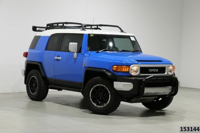 Used Toyota FJ Cruiser GSJ15R Bentley, 2011 Toyota FJ Cruiser GSJ15R Blue 5 Speed Automatic Wagon