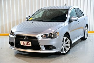 2015 Mitsubishi Lancer CJ MY15 GSR Sportback Silver 6 Speed Constant Variable Hatchback.