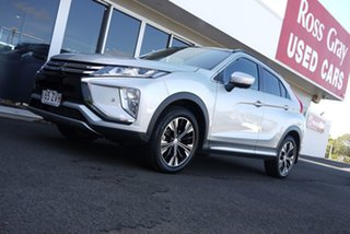 2020 Mitsubishi Eclipse Cross YA MY20 Exceed 2WD Silver 8 Speed Constant Variable Wagon.
