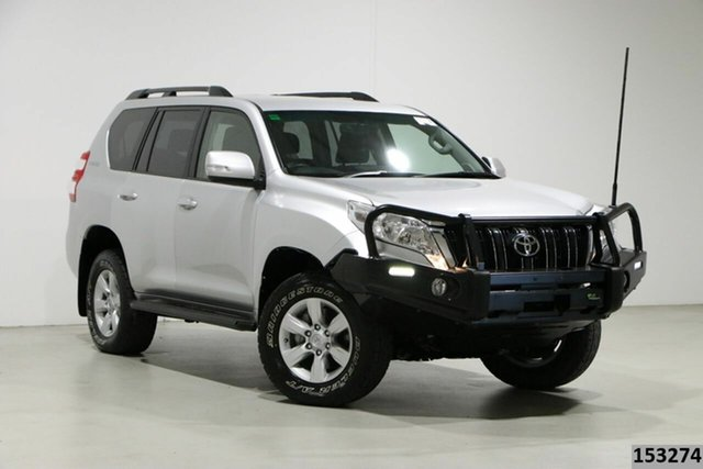 Used Toyota Landcruiser Prado GDJ150R MY16 GXL (4x4) Bentley, 2016 Toyota Landcruiser Prado GDJ150R MY16 GXL (4x4) Silver 6 Speed Automatic Wagon