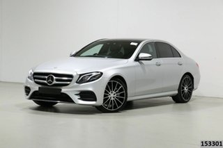 2016 Mercedes-Benz E350 213 D Silver 9 Speed Automatic G-Tronic Sedan.
