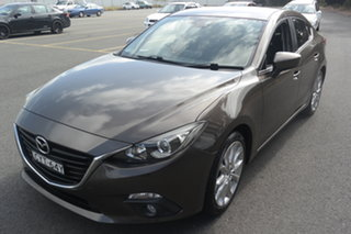 2014 Mazda 3 BM5236 SP25 SKYACTIV-MT Brown 6 Speed Manual Sedan.