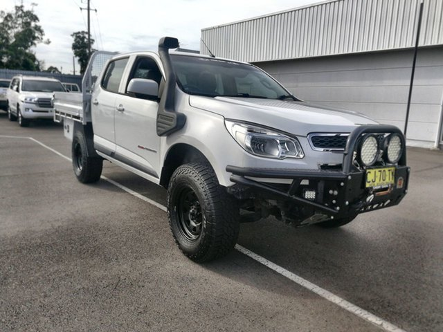 Used Holden Colorado RG MY15 LS Crew Cab Cardiff, 2014 Holden Colorado RG MY15 LS Crew Cab White 6 Speed Sports Automatic Utility