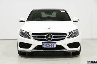 2018 Mercedes-Benz C300 205 MY18 White 9 Speed Automatic G-Tronic Sedan.